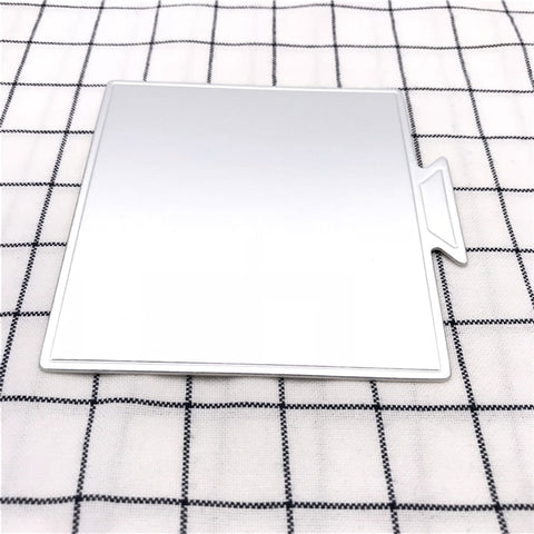 100pcs/Set Silvery Square Mousse Cake Boards Paper Cupcake Dessert Displays Tray Wedding