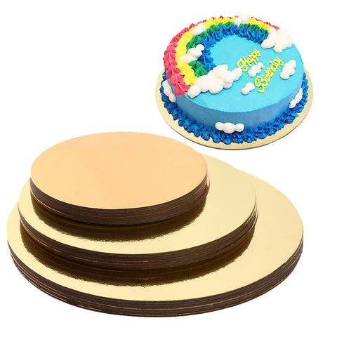 Cake Boards Set of 18 Cake circle bases 6 inches, 8 inches, and 10 inches 6 of Each