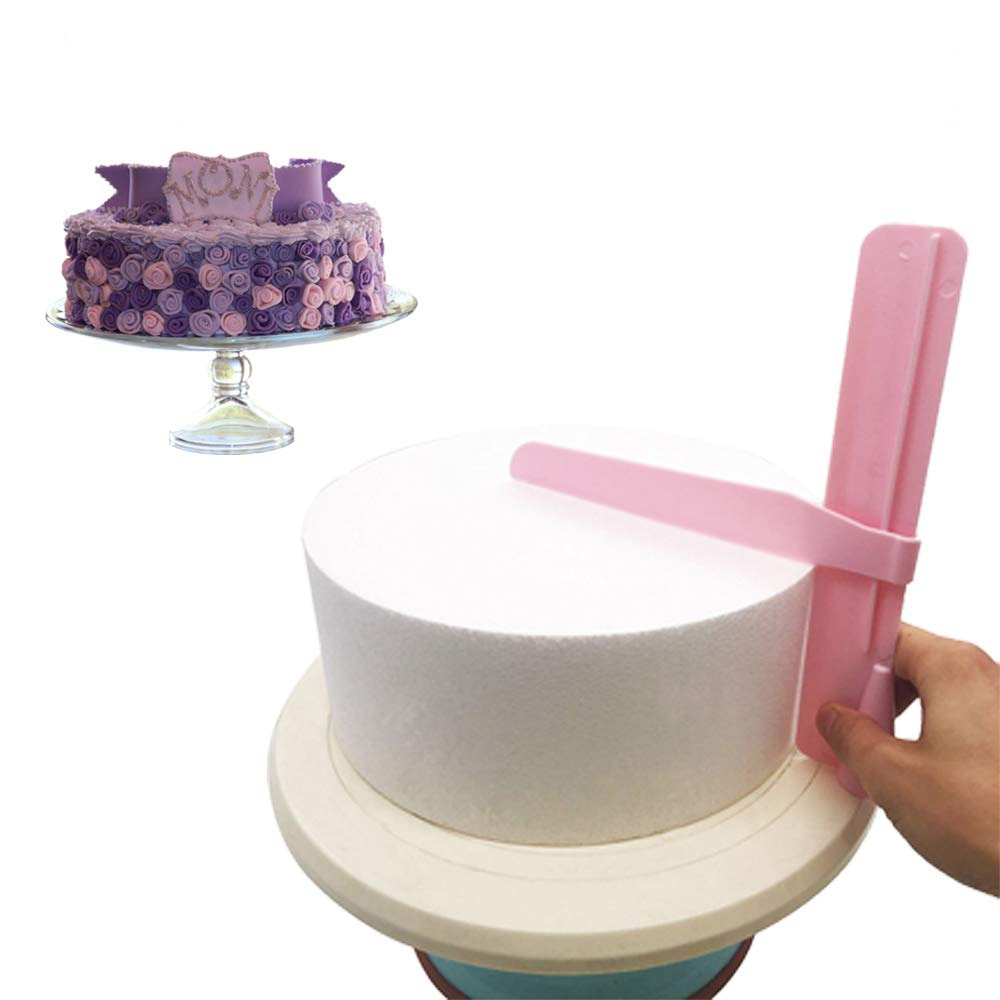 Cake Scraper Adjustable Cake Edge Smoother Pastry Mold Cream Butter Fondant Spatula Cake