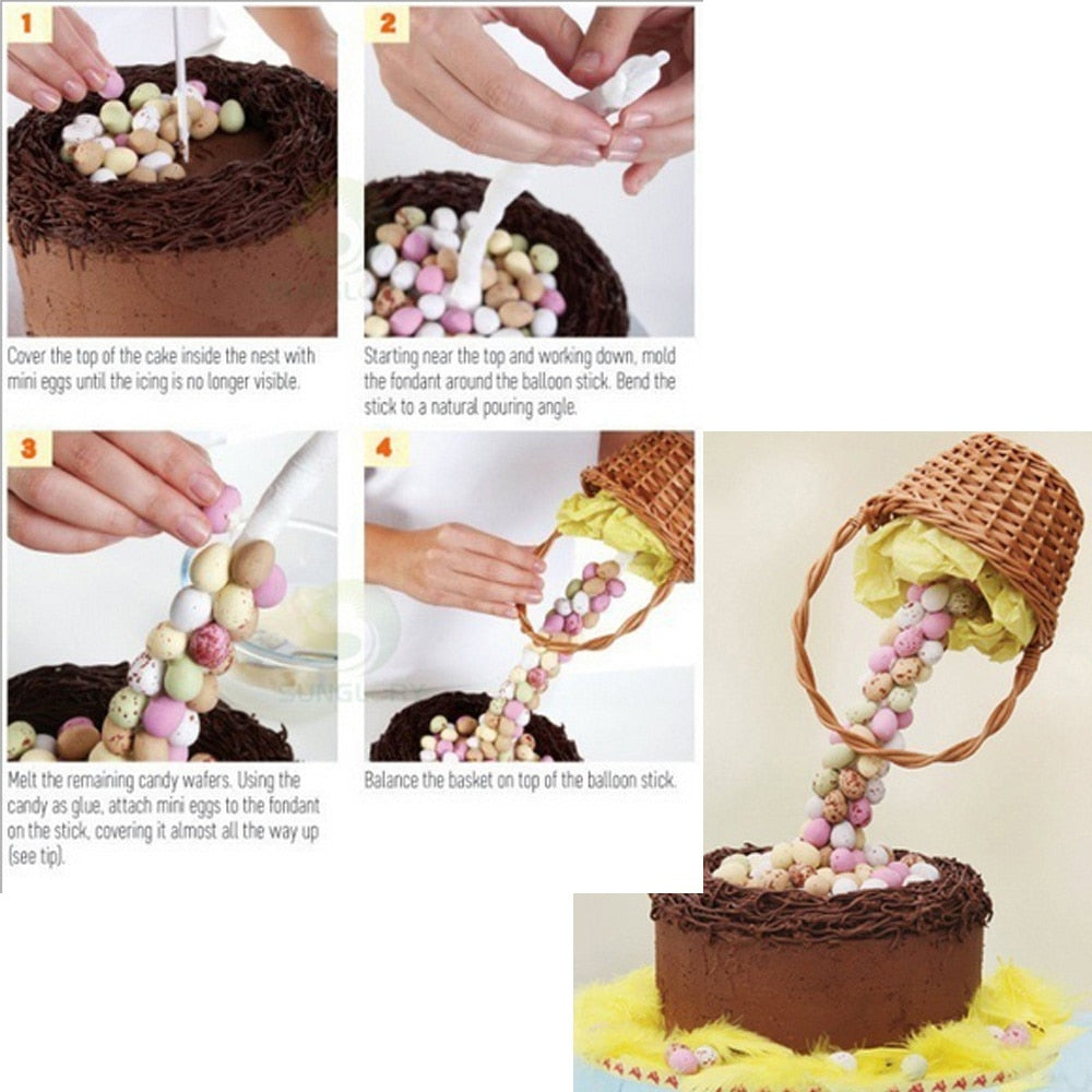 Cake Support Structure Frame Anti Gravity Cake Pouring Kit Hanging Decorative Cake Stand Birthday