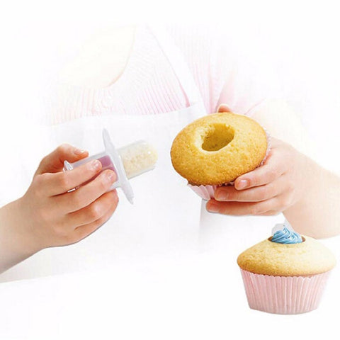 Cake core remover pies cupcake cake decorating tools bakeware kit home baking mould cookies cutter