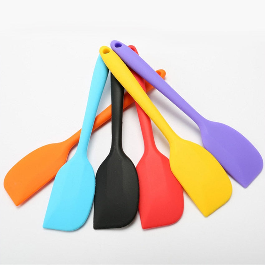 Cake tools Silicone Cream Butter Cake Spatula Mixing Batter Scraper Brush Butter Mixer Cake
