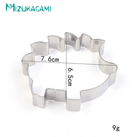 Cookie Cutter Stainless Steel Hedgehog Shape Fondant Cake Tool  Cutting DIY Kitchen Baking   Cutters