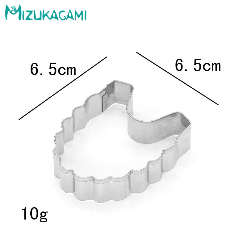 Cookie Cutters Bib Shape  Fondant Cake Biscuit Cutting Tool  Mold DIY Kitchen Baking     MS-00445