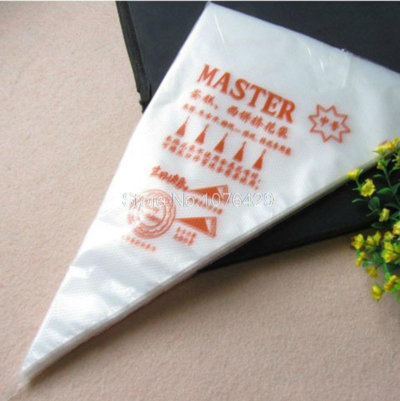 Disposable Decorating Bag The Cake Biaohua Bag Cream Piping Bag Medium Size Thickened The Nontoxic