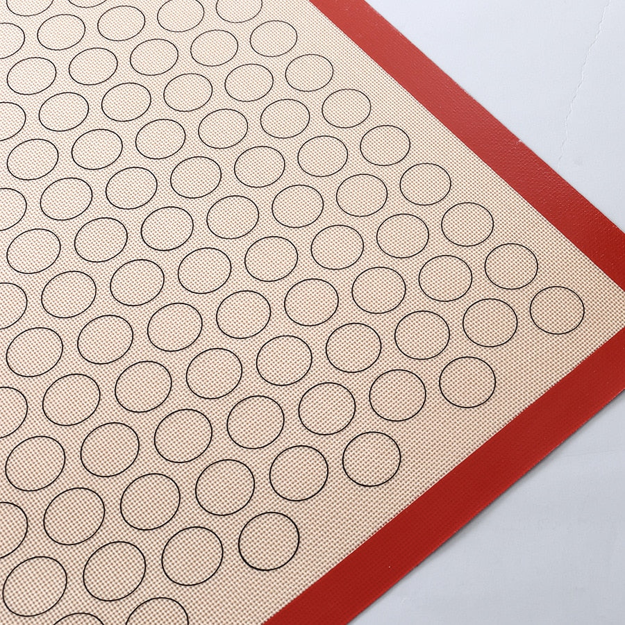ERMAKOVA Non-Stick Silicone Baking Mat Pad Sheet Baking Pastry Tool Rolling Dough Mat Large Size for
