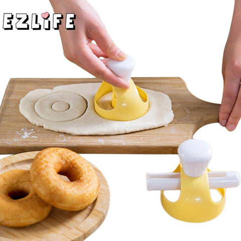 EZLIFE Creative DIY Donut Mold Cake Decorating Tools Desserts Bread Maker Baking Supplies Kitchen