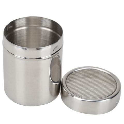 Flour Salt Sifter Stainless Steel Icing Sugar Dredger Cocoa Chocolate Powder Shaker Decorating Tools