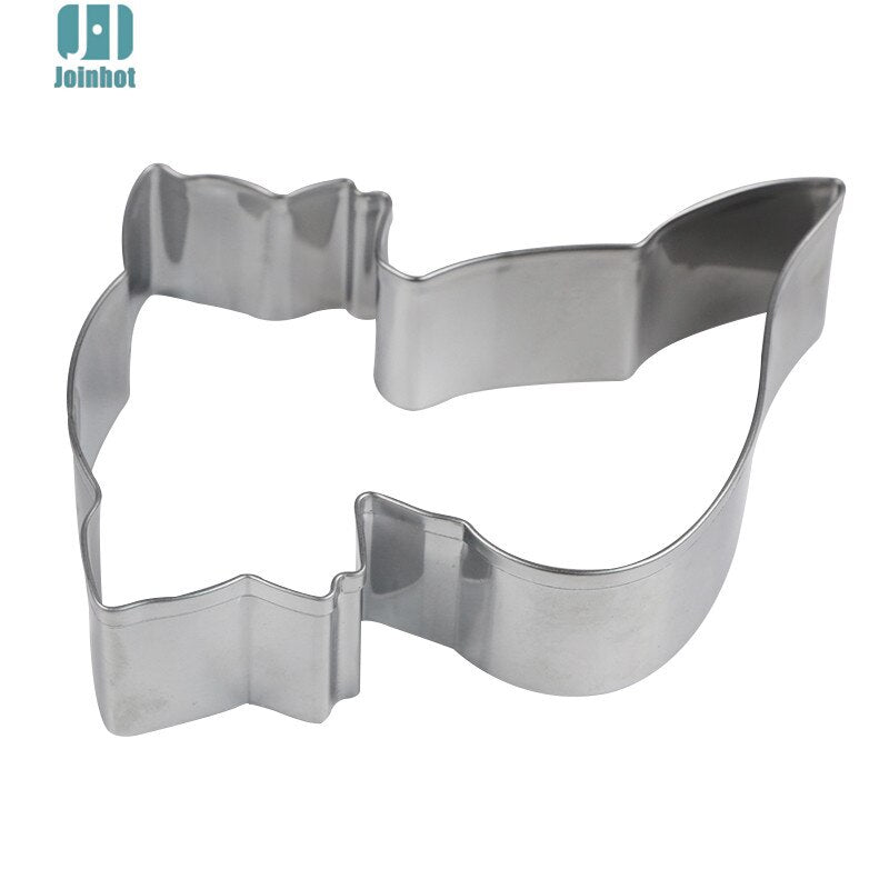 Fox Animal Shape Non Stick Stainless Steel Biscuit Creative DIY Cookie Cutter Kitchen Cooking