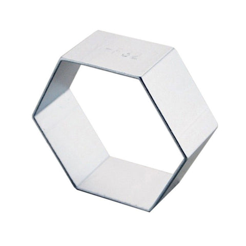 Free shipping Hexagon cookie cutters cooking tool Fondant Gum Paste Mold Cake Decorating Clay