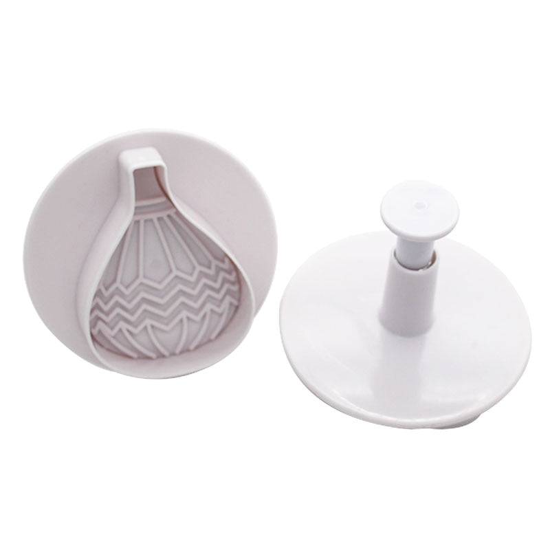 Goldbaking hot air balloon cookie cutters 4 pieces a set Biscuit Cutter Set Fondant Embossing