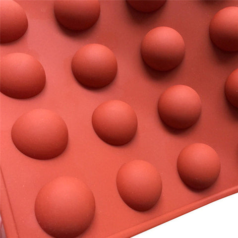 Half Ball Sphere Silicone Cake Mold Muffin Chocolate Cookie Baking Mould Decor DIY birthday