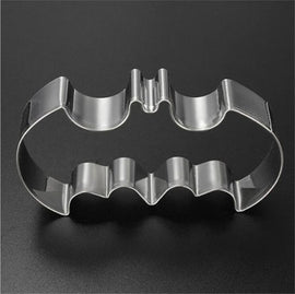 Halloween Batman Bat Cookie Tool Cutter Biscuit Press Icing Set Stamp Mold Stainless Steel Pastry