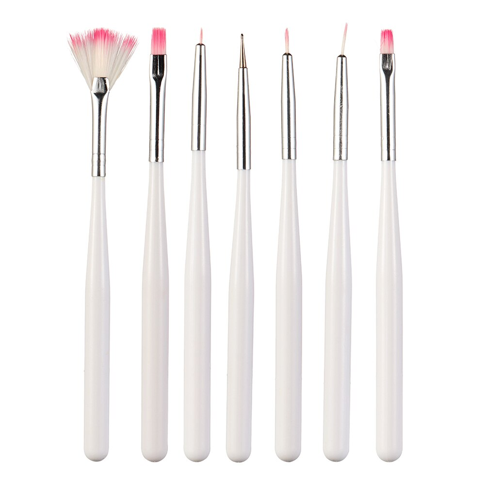 7PCS/Set Fondant Cake Painting Brush Painting Dusting Promotion Icing Pastry Pen