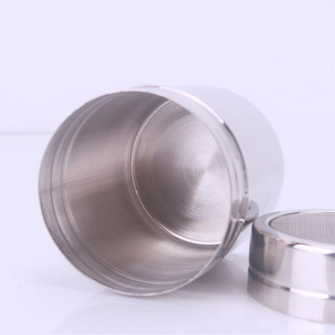Stainless Steel Chocolate Shaker Icing Sugar Powder Flour Powder Cocoa Coffee Sifter