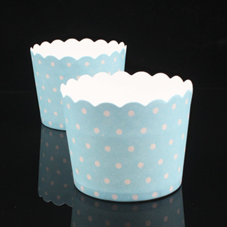 50pcs / Bag Multicolor Cupcake Baking Cup Styling Cooking Tool Muffin Cake Cup Kitchen Cake