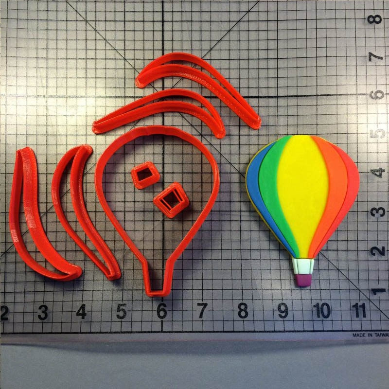 Hot Air Balloon Cookie Cutter Cake Decorating Tools Custom Made 3D printed Cake Cutter Biscuits Tool