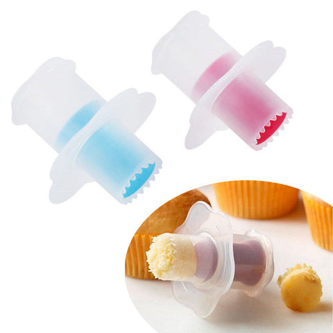 Kitchen Cupcake Muffin Cake Divider Model Pastry Corer Plunger Cutter Decorating