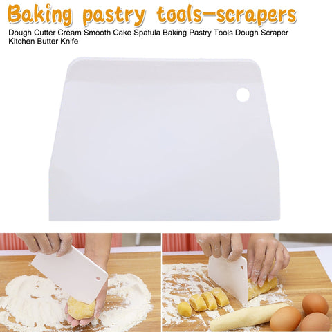 Kitchen Tool Pastry Cutters Dough Pizza Cutter Pastry Slicer Blade Spatula Cake Bread Pasty