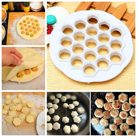 Kitchen accessories Dumpling Mould Press Tool Dough Pie Ravioli Kitchen Cooking Pastry Dumplings