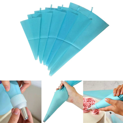 Large Size Confectionery Equipment Silicone Reusable Icing Piping Pastry Bag for Cream Baking
