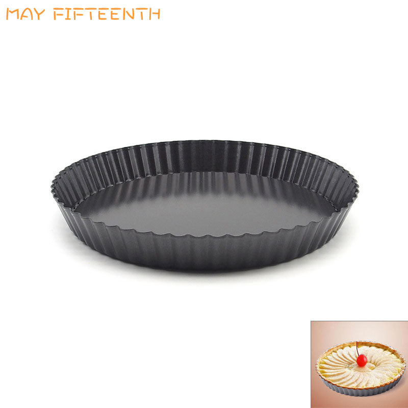 MAY FIFTEENTH 8 10 11 12 Inch Pizza Pie Pancake Pan Carbon Steel Round Non-stick Baking Pan
