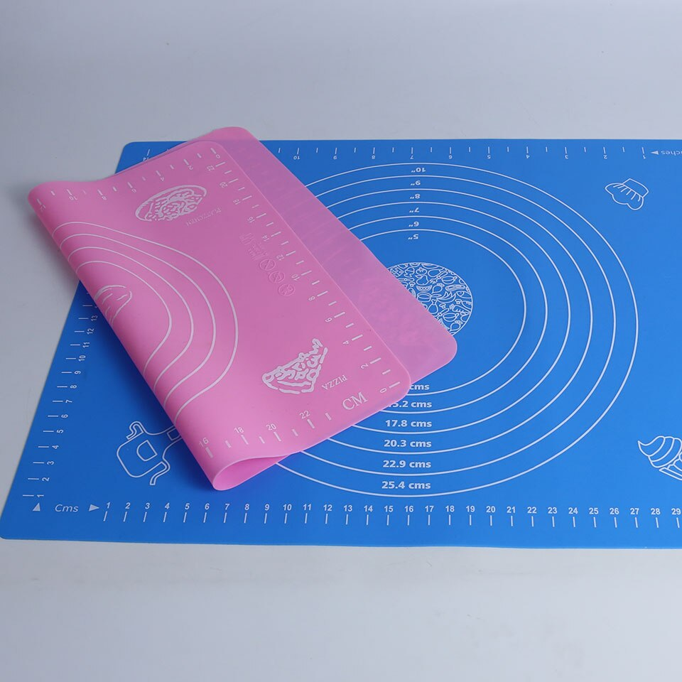 Mat For Rolling Dough Non-Stick Silicone Pastry Board Non-Slip High Temperature Resistance With Size