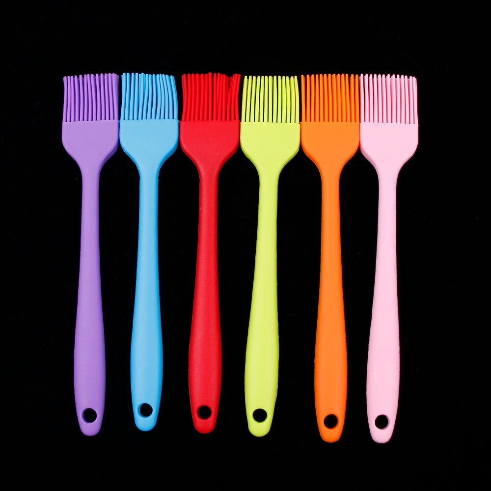 Multi Color Silicone Basting Pastry Brush Oil Brushes For Cake Bread Butter Baking Tools Safety