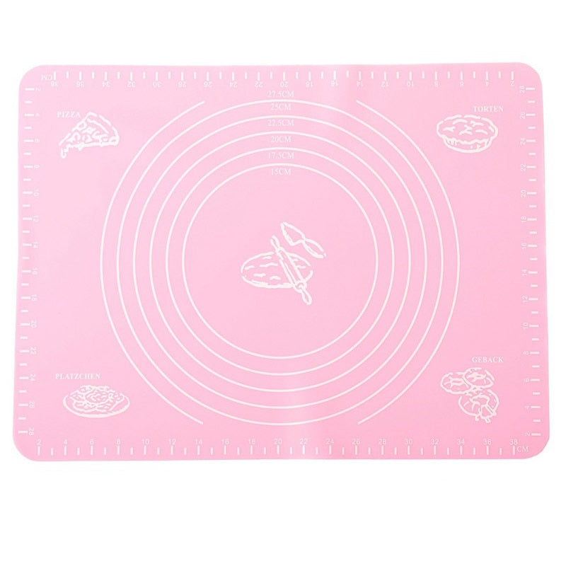 Multifunctional Non-stick Silicone Baking Pad Bakeware Liner Heat Resistance Table Placemat Board