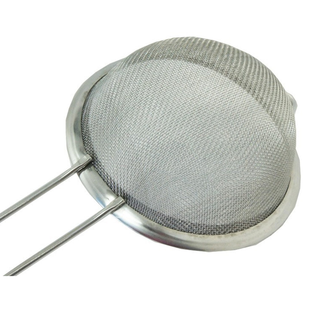 Fine Mesh Stainless Steel Strainers Screen Mesh Oil Strainer Flour Sieve Baking Tools