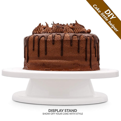 New Kitchen Cake Plate Turntable Rotating Anti-skid Round Cake Stand Cake Decorating Rotary Table
