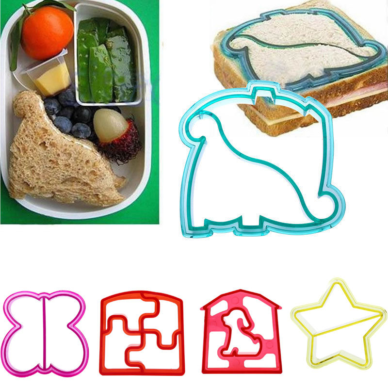 Kids Butterfly Shape Sandwich Bread Cutter Mold Cake Toast Mould Maker