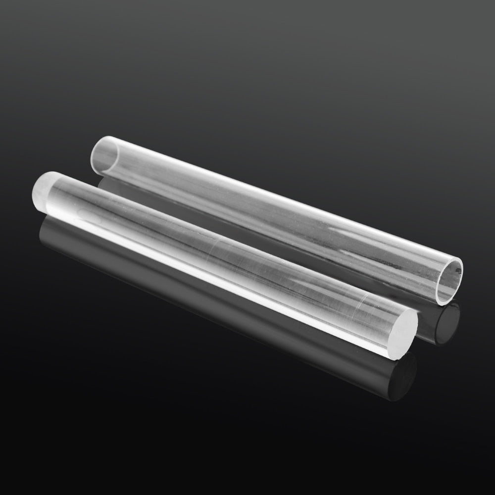 Non-Stick Clay Acrylic Rod Clay Rolling Pin Hollow Stick Clear Acrylic Sculpture Modeling Tools