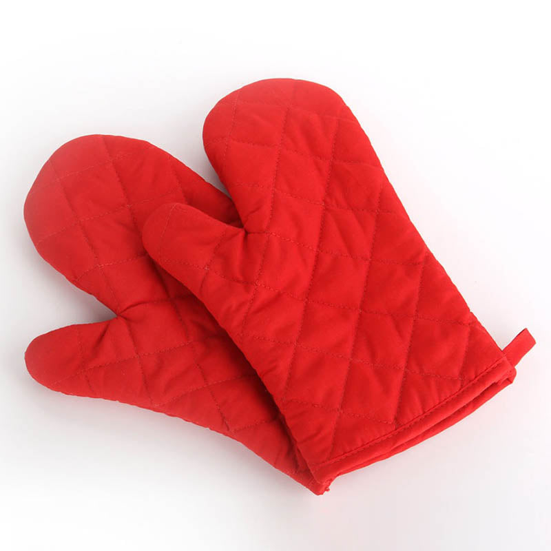 Non-slip  Insulated Heat Resistant Kitchen Tool 1Pcs  Microwave Oven Glove Mitten Baking Gloves