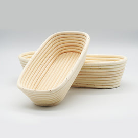 Oval Banneton Bread Shaped Mold Proofing Basket
