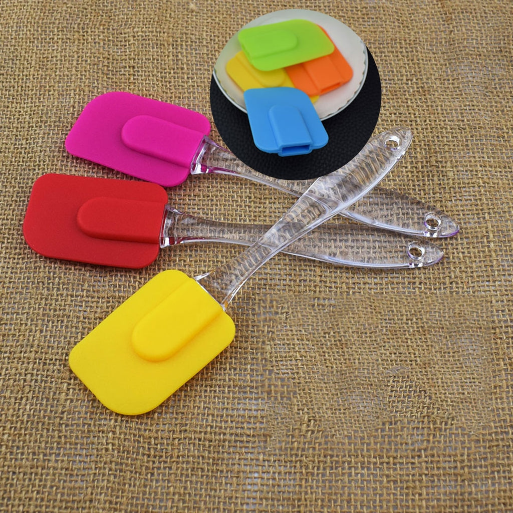 Pastry Tools Silicone Spatula Baking Scraper Cream Butter Handled Cake Spatula Cooking Cake