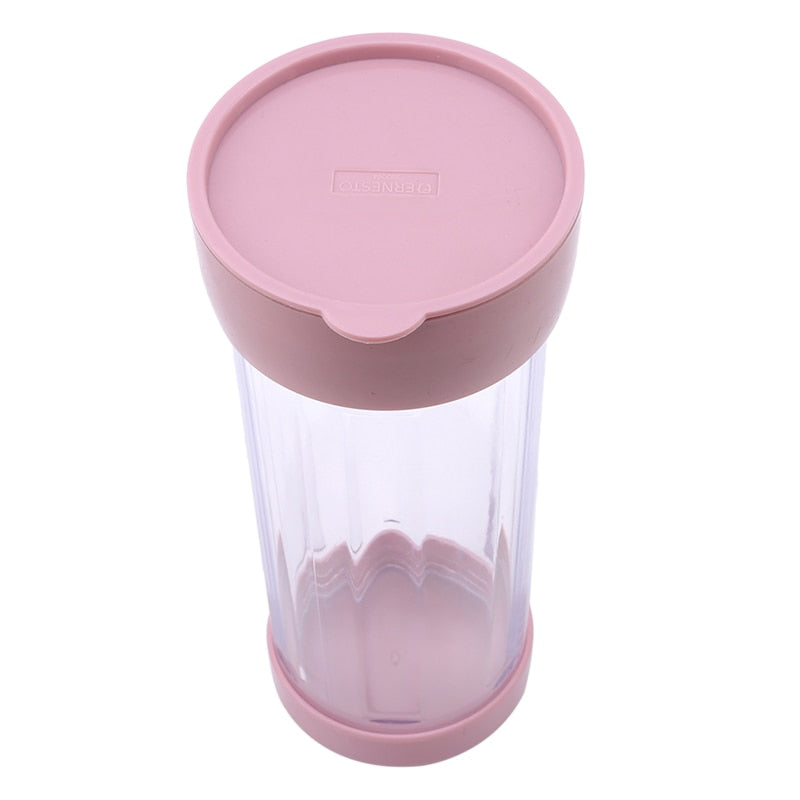Plastic Icing Sugar Dispenser with Lid, Chocolate, Coffee, Cocoa Powder Sugar Shaker With Stainless