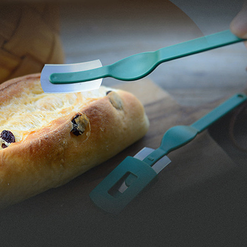 Pop Arc Bread Knife Baguette Cutting French Toas Cutter Curved Bread Cutter with Thin Carbon Steel