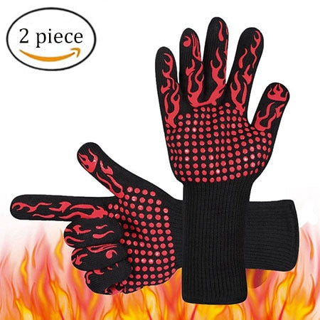 Potholders For kitchen glove BBQ the fireproof baking heat resistant silicone potholders holder pots