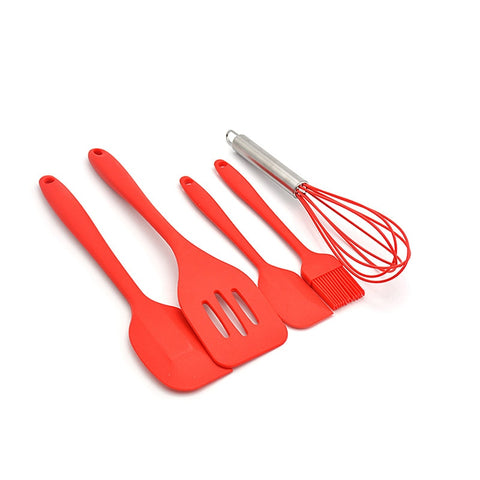 Silicone Heat Resistant Kitchen Cooking Utensils spatula Non-Stick Baking Tool