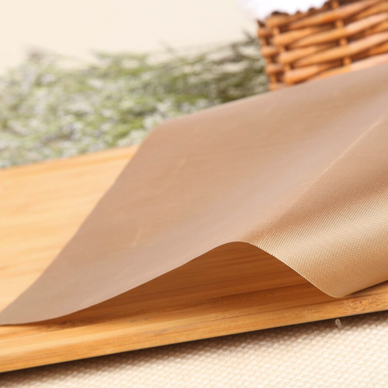 Reusable Resistant Baking Mat Non-stick 30*40cm High Temperature Resistant Fabric Cloth Baking Oil