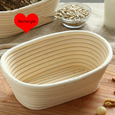 SHENHONG Oval Dough Rattan Basket Dough Banneton Brotform Bread Proofing Proving Fermentation
