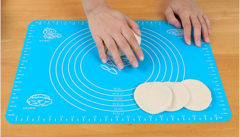 Silicone Baking Mat Thickening Flour Rolling Scale Mat Kneading Dough Pad Baking Pastry Rolling Mat