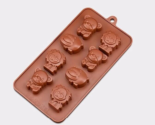 SJ Chocolate Molds Food Silicone Candy Molds Cake Decorating Tools 3D Gummy Chocolate Baking