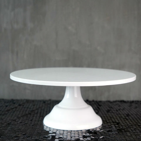 SWEETGO Grand baker cake stand 12 inch white wedding cake tools fondant bakeware cake decorating