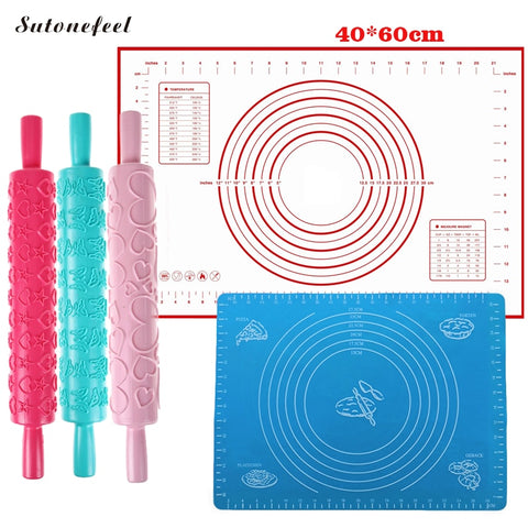 Silicone Baking Mat Nonstick Rolling Dough Mat High Quality Pastry Pad Kneading Dough Mat Kitchen