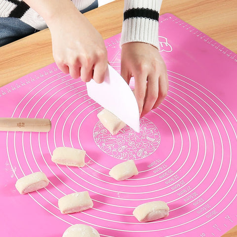 Silicone Baking Mat Thickening Flour Rolling Scale Mat Kneading Dough Pad Baking Pastry Rolling