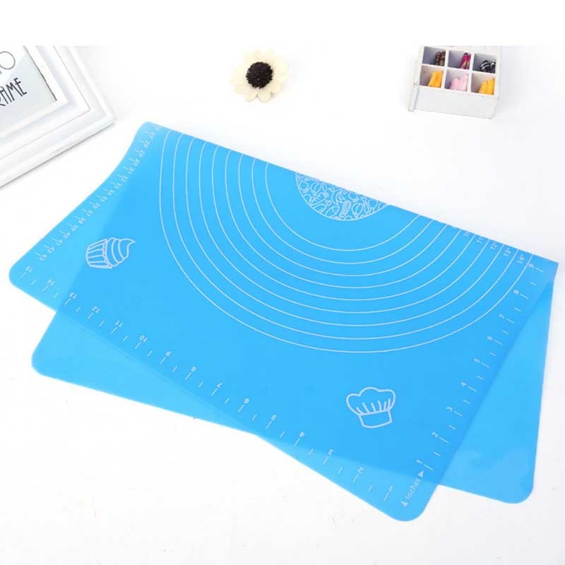 Silicone Baking Mat With Resistant Scale Non Stick Kneading Dough Mat DIY Cake Baking Liners Pads