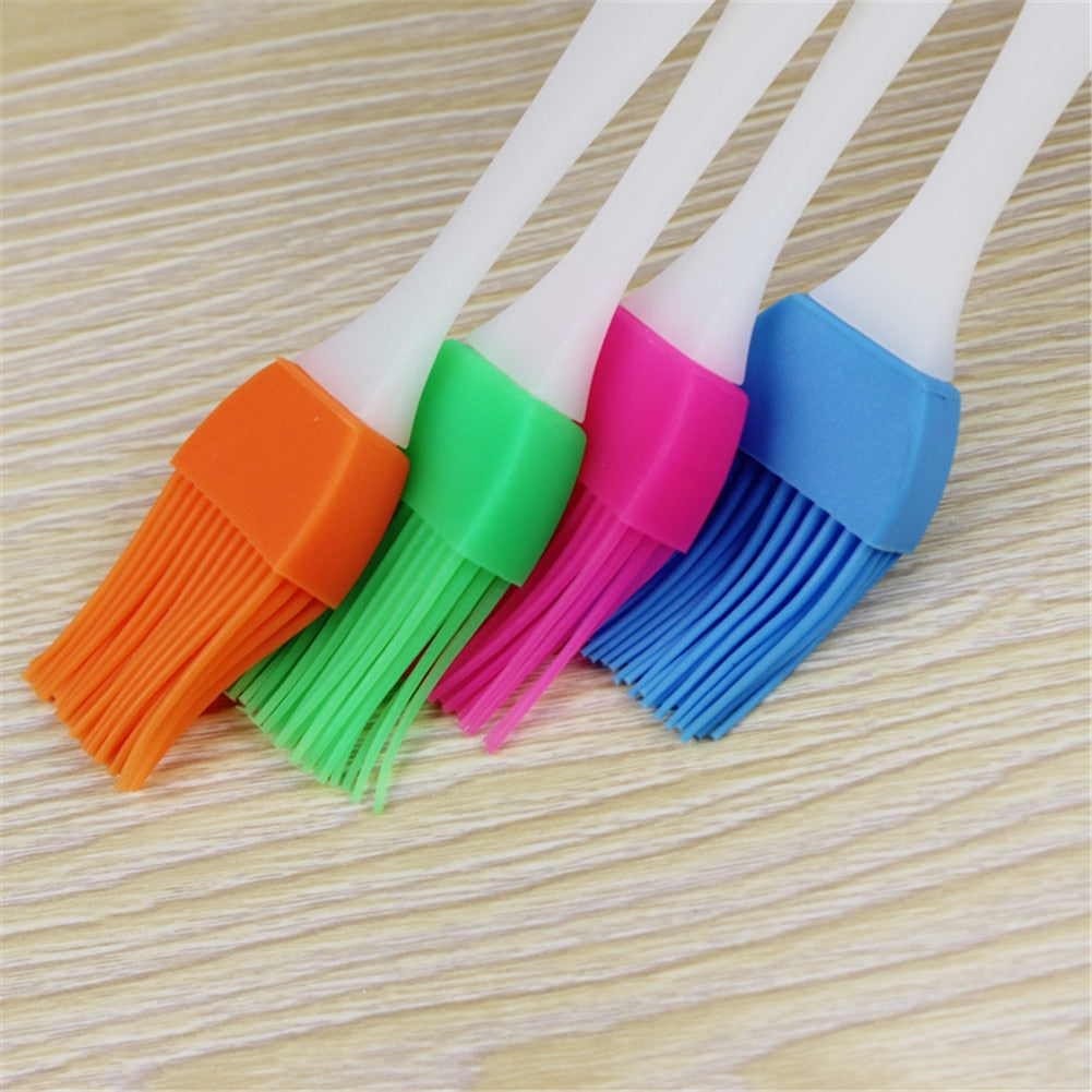 Silicone Pastry Brush Baking Bakeware BBQ Cake Pastry Bread Oil Cream Cooking Basting Tools