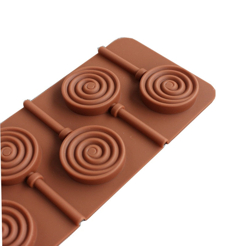Silicone form for Lollipop Candy Cake baking mold Chocolate Cake Decorating Pastry Mould silicone